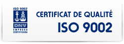 Certificat de qualité ISO 9002 - Transport routier